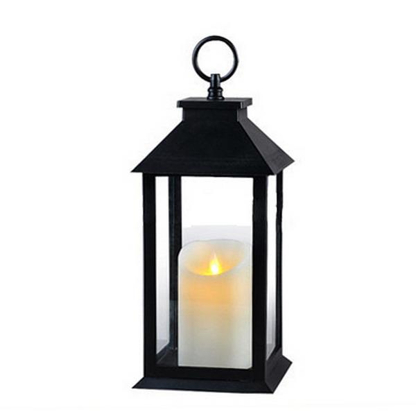 Plastic Led Candle Lantern
